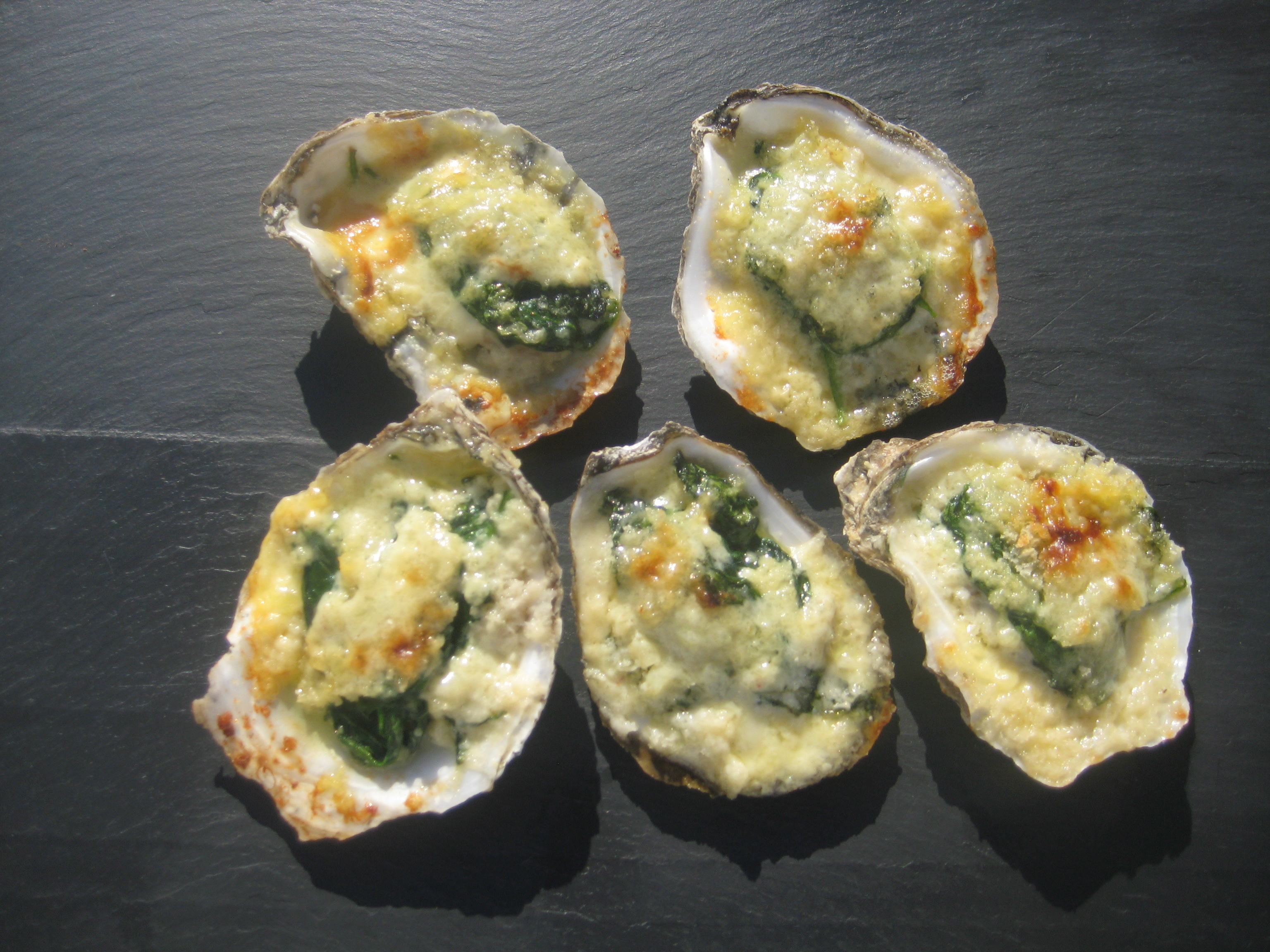 Oysters Rockefeller — He Cooks/She Wines