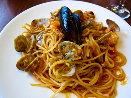 Seafood mix recipe pasta