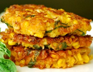 Roasted Corn Cakes hcsw